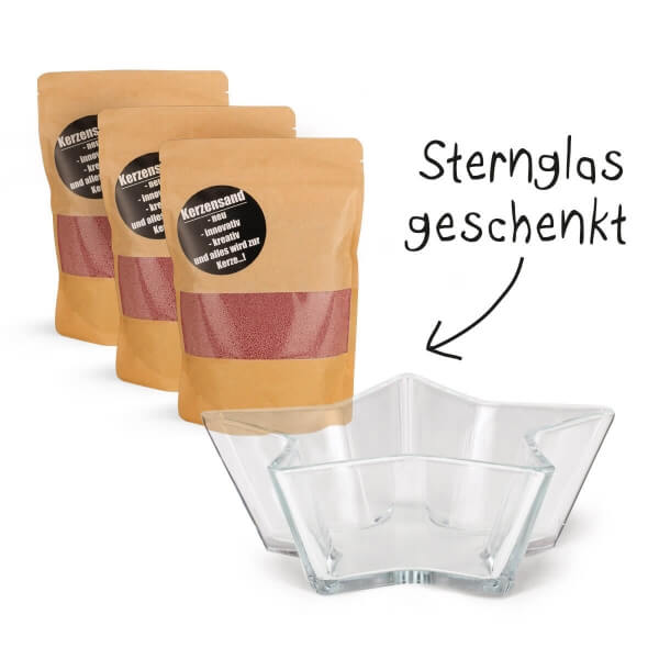 Sternglas Bundle – Flieder